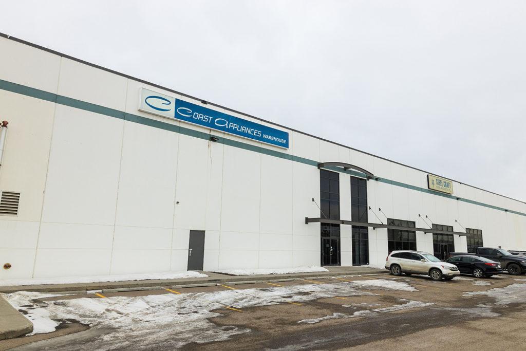 Coast Appliances Calgary Warehouse